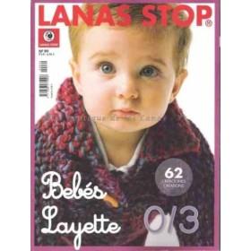 Revista 99 Bebes Layette Lanas Stop
