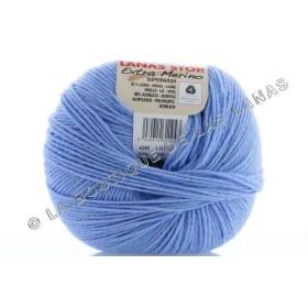 Extra Merino 408. Azul