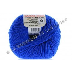Extra Merino 445. Azul eléctrico