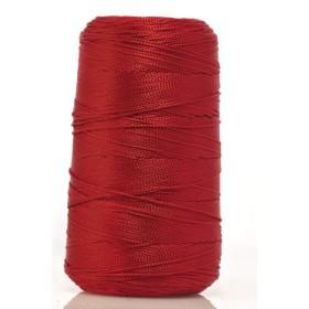 Cono Hilo Cuquillo Seda 003. Rojo