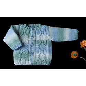 BABY AZTECA Azul
