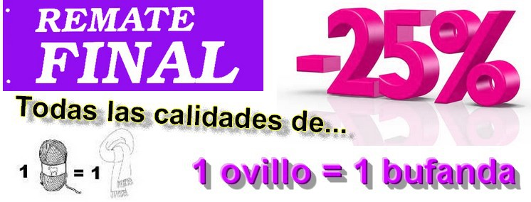 Remate final -25%