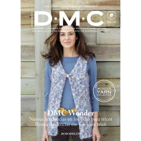 REVISTA Nº 10 TRICOT DMC WONDER