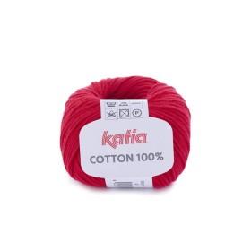 COTTON 100% 04 Rojo