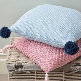 Anchor Baby Pure Cotton 0128 Celeste + 0423 Maquillaje