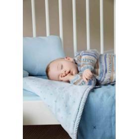 BABY JACQUARD 83 Azul