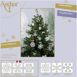 KIT SNOWFLAKES ANCHOR Blanco