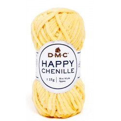 HAPPY CHENILLE DMC 14 Amarillo