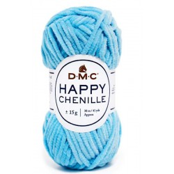 HAPPY CHENILLE DMC 17 Azul