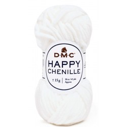 HAPPY CHENILLE DMC 20 Blanco