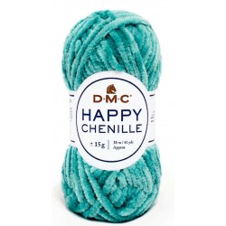 HAPPY CHENILLE DMC 30 Turquesa