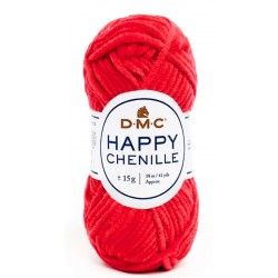 HAPPY CHENILLE DMC 34 Rojo
