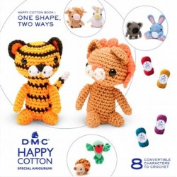 DMC LIBRO Nº 1 HAPPY COTTON