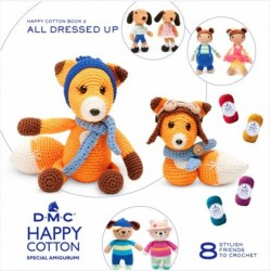 DMC LIBRO Nº 2 HAPPY COTTON