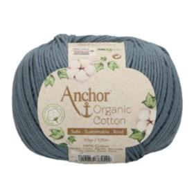 ANCHOR ORGANIC COTTON 00052 Añil
