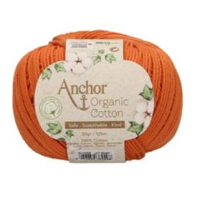 ANCHOR ORGANIC COTTON 01003 Naranja