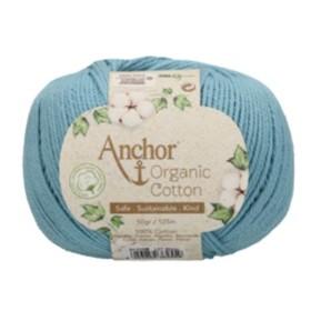 ANCHOR ORGANIC COTTON 01038 Azul