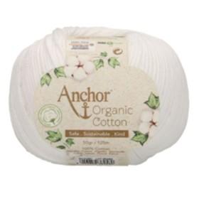 ANCHOR ORGANIC COTTON 01331 Blanco