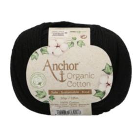 ANCHOR ORGANIC COTTON 01332 Negro