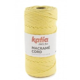 KATIA MACRAMÉ CORD 112 Amarillo
