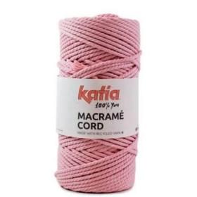 KATIA MACRAMÉ CORD 101 Rosa