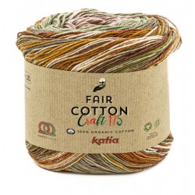 FAIR COTTON CRAFT 175 -  Granate 800