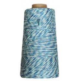 CONOS 100% ALGODÓN PEINADO COMBI L Azul (Aguadulce)