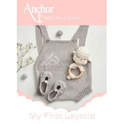 Revista Anchor Baby Pure Cotton MY FIRST LAYETTE