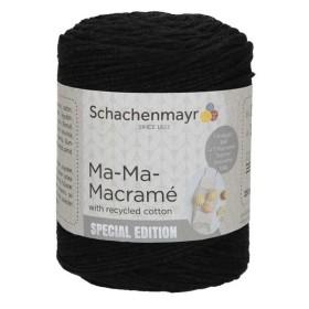SCHACHENMAYR Ma-Ma-MACRAMÉ 00099. Negro