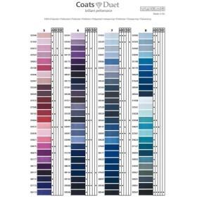 bobinas coser Coats Duet