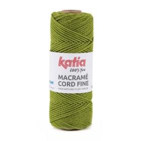 KATIA MACRAMÉ CORD FINE 207 Verde