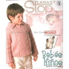 Revista 76 Bebes Ninos Lanas Stop