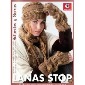 Revista 112 Bufandas Y Gorros Lanas Stop