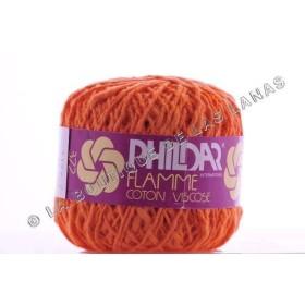 Flamme Coton Viscose Naranja