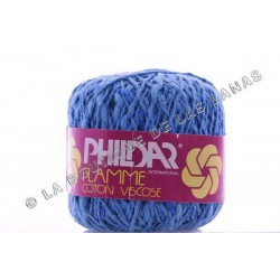 Flamme Coton Viscose Azul