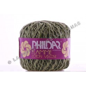 Flamme Coton Viscose Verde