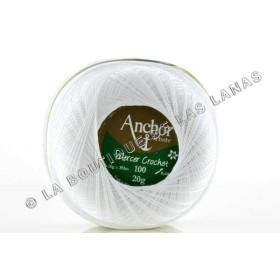 Mercet Crochet 20g Blanco