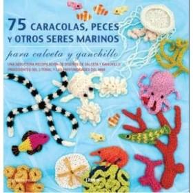 75 Caracolas Peces Y Otros Seres Marinos