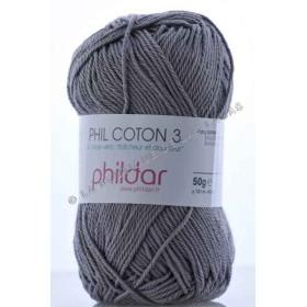 Phil Coton 3 Gris