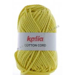 Cotton Cord Amarillo