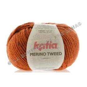 MERINO TWEED Naranja