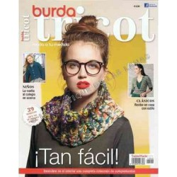 Revista BURDA TRICOT, TAN FACIL