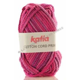 COTTON CORD PRINT - 103. Fucsia