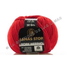 York Merino 807. Rojo