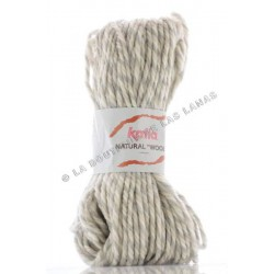 NATURAL WOOL Marfíl (mezcla)