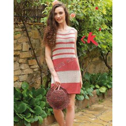 SILK COTTON Coral - Beige