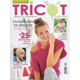 Revista TRICOT, FACIL DE HACER Edicion 3