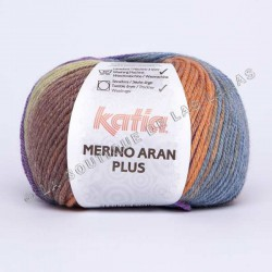 MERINO ARAN PLUS 206 Marron