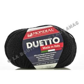 DUETTO 0200 Negro