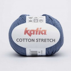COTTON STRETCH 28 Azul